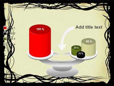 Open Flowers Pattern PowerPoint Template Slide 10