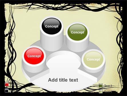Open Flowers Pattern PowerPoint Template Slide 12