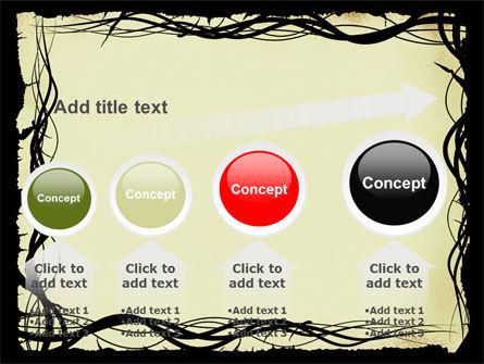 Open Flowers Pattern PowerPoint Template Slide 13