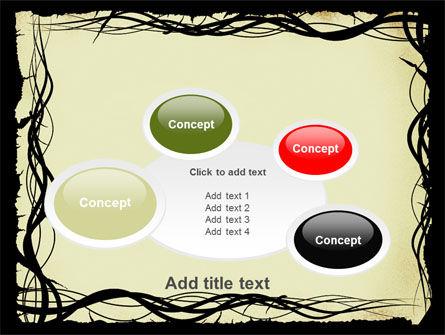 Open Flowers Pattern PowerPoint Template Slide 16