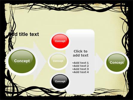 Open Flowers Pattern PowerPoint Template Slide 17