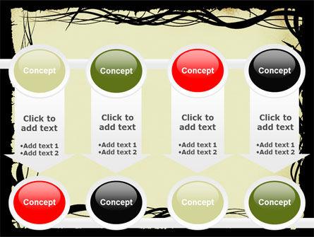 Open Flowers Pattern PowerPoint Template Slide 18