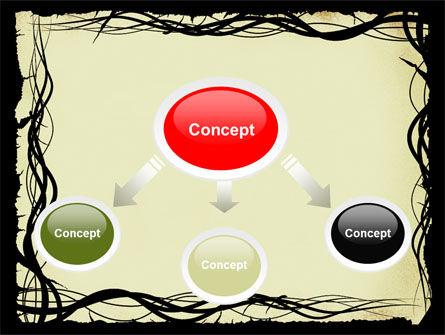 Open Flowers Pattern PowerPoint Template, Slide 4, 05625, Abstract/Textures — PoweredTemplate.com
