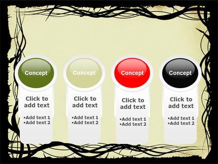 Open Flowers Pattern PowerPoint Template Slide 5