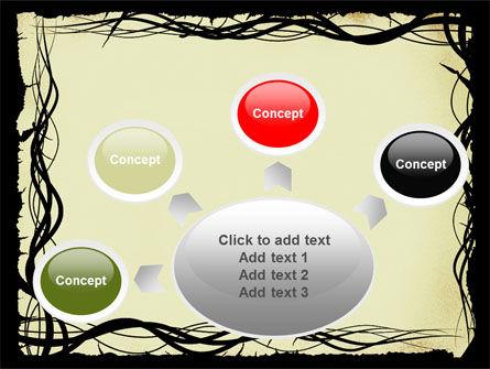 Open Flowers Pattern PowerPoint Template Slide 7