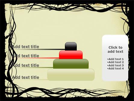 Open Flowers Pattern PowerPoint Template Slide 8