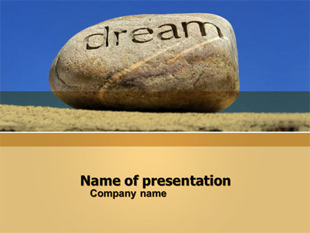 Dream PowerPoint Template, 05626, Business Concepts — PoweredTemplate.com