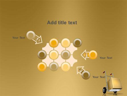 Handcart PowerPoint Template Slide 10