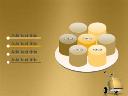 Handcart PowerPoint Template Slide 12