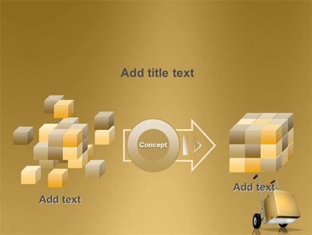 Handcart PowerPoint Template Slide 17
