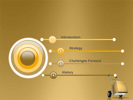 Handcart PowerPoint Template Slide 3
