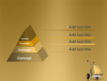 Handcart PowerPoint Template Slide 4