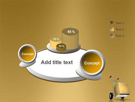 Handcart PowerPoint Template Slide 6