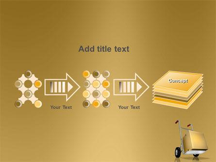 Handcart PowerPoint Template Slide 9