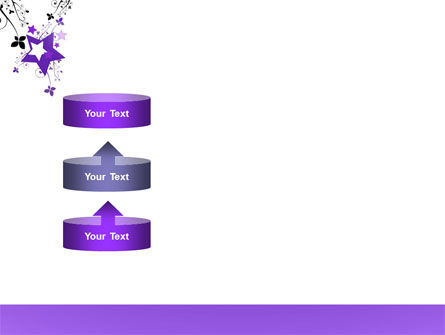 Violet Stars PowerPoint Template Slide 10