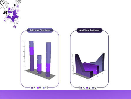 Violet Stars PowerPoint Template Slide 13