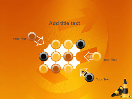 Traffic Cones PowerPoint Template Slide 10