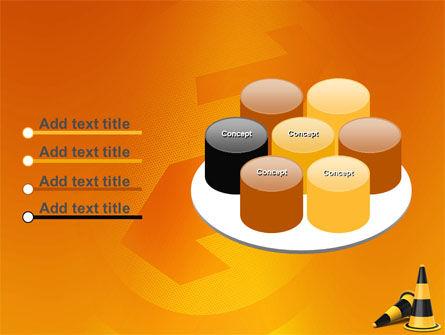 Traffic Cones PowerPoint Template Slide 12