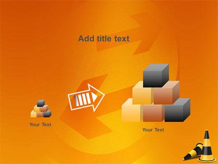 Traffic Cones PowerPoint Template Slide 13