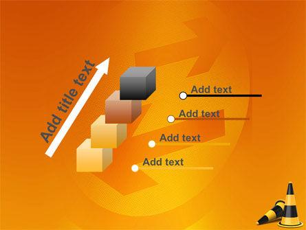 Traffic Cones PowerPoint Template Slide 14