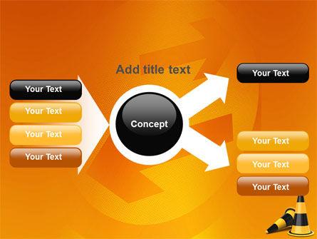 Traffic Cones PowerPoint Template Slide 15