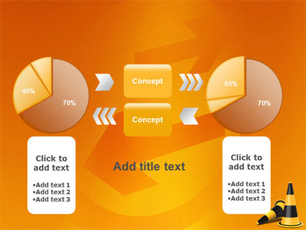 Traffic Cones PowerPoint Template Slide 16