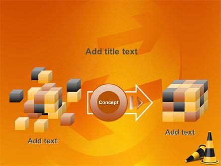 Traffic Cones PowerPoint Template Slide 17