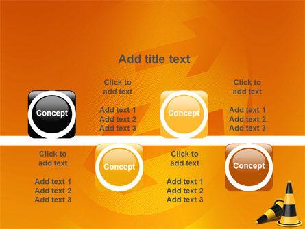 Traffic Cones PowerPoint Template Slide 18