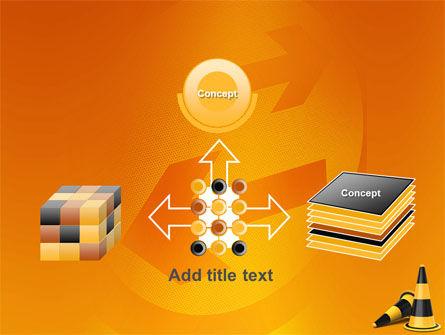 Traffic Cones PowerPoint Template Slide 19