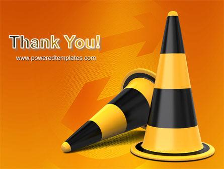 Traffic Cones PowerPoint Template Slide 20