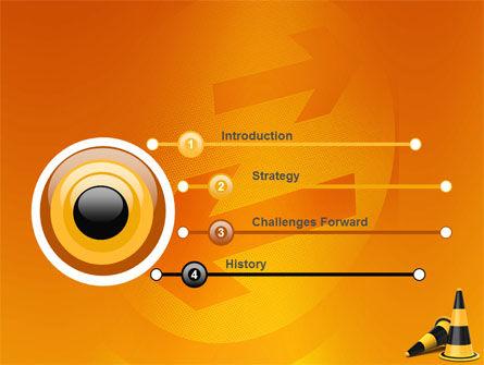 Traffic Cones PowerPoint Template Slide 3