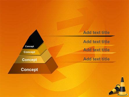 Traffic Cones PowerPoint Template, Slide 4, 05631, Construction — PoweredTemplate.com