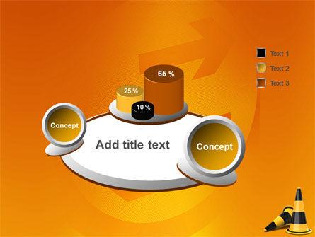 Traffic Cones PowerPoint Template Slide 6