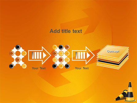 Traffic Cones PowerPoint Template Slide 9