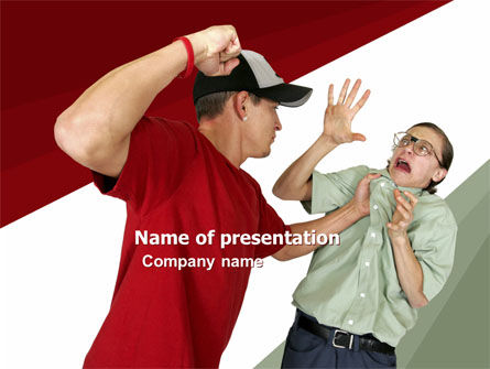 Hooligan PowerPoint Template, 05633, People — PoweredTemplate.com