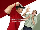 People: Hooligan PowerPoint Template #05633