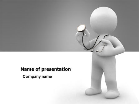 Medical: Doctor Of Medicine PowerPoint Template #05634