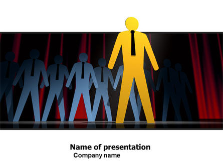 Business Young Professionals PowerPoint Template, 05636, Business Concepts — PoweredTemplate.com