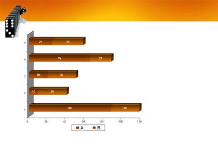 Dominoes Falling Effect PowerPoint Template Slide 11