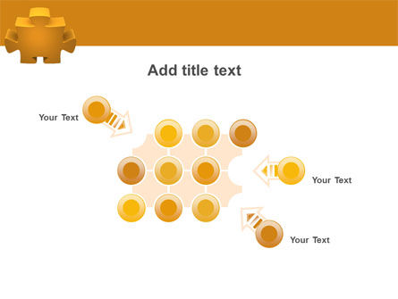 Yellow Jigsaw PowerPoint Template Slide 10