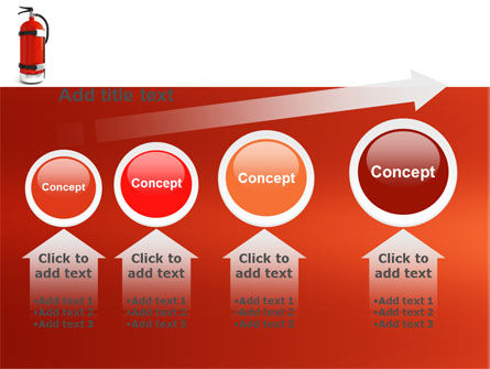 Fire Extinguisher PowerPoint Template Slide 13