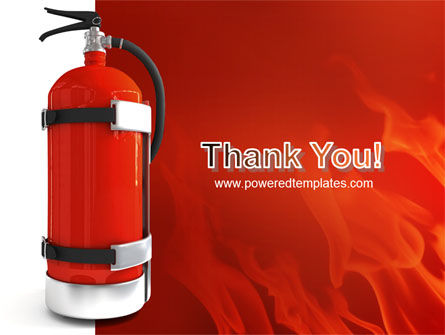 Fire Extinguisher PowerPoint Template Slide 20