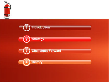 Fire Extinguisher PowerPoint Template Slide 3