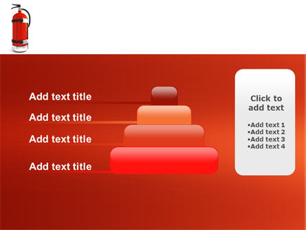 Fire Extinguisher PowerPoint Template Slide 8