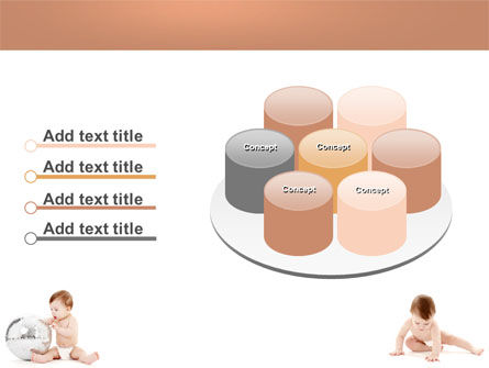 Sweet Babies PowerPoint Template Slide 12