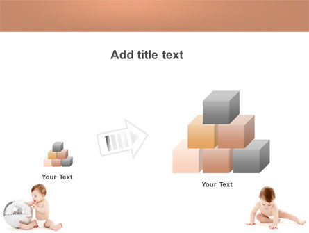 Sweet Babies PowerPoint Template Slide 13