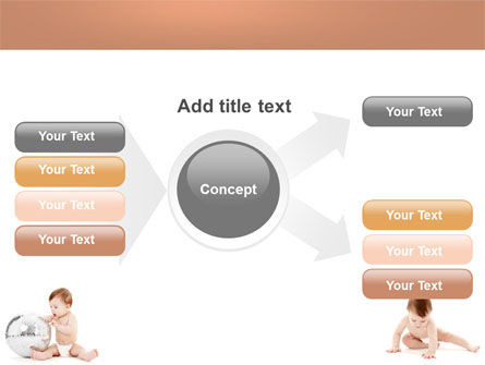 Sweet Babies PowerPoint Template Slide 15
