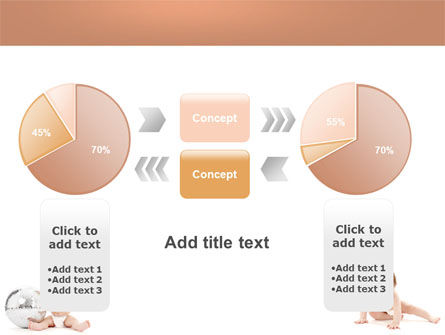 Sweet Babies PowerPoint Template Slide 16