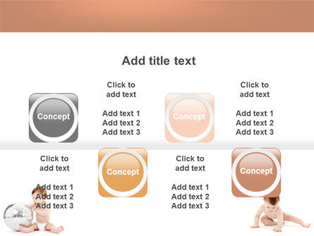 Sweet Babies PowerPoint Template Slide 18