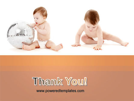 Sweet Babies PowerPoint Template Slide 20